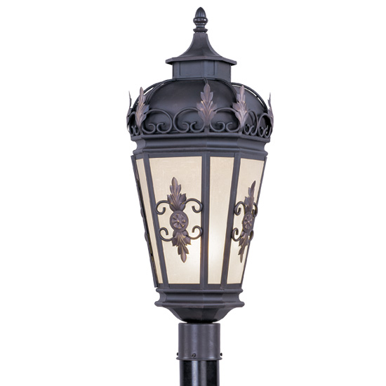 Livex Lighting 2198-07 Berkshire Outdoor Post Head in Bronze